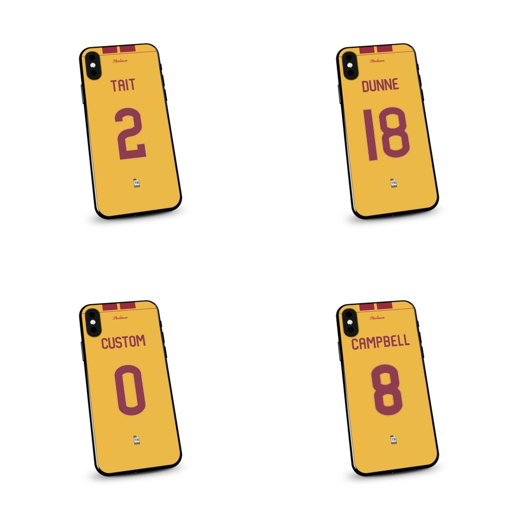 Image of Motherwell 19/20 home shirt phone case