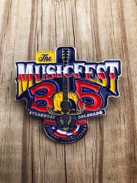 Image of Official MusicFest Lapel Pin