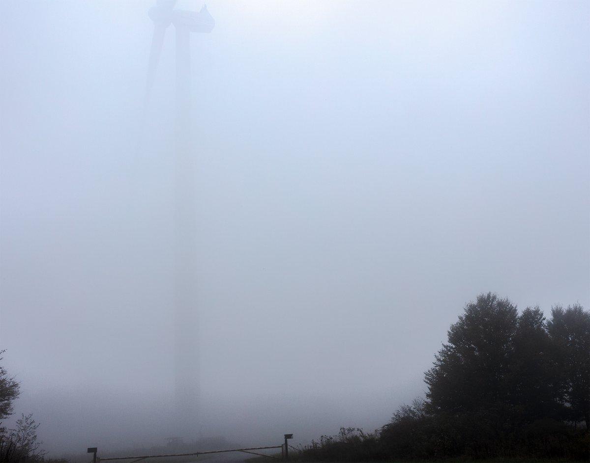Image of Turbine in the Fog, Tucker County, West Virginia (TCWV4672), 2018