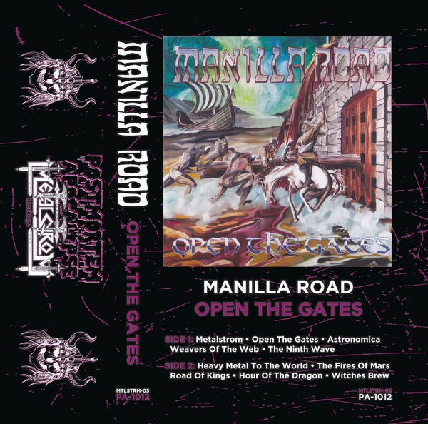"Image of Manilla Road ""Open The Gates"" CS /// PA-1012"