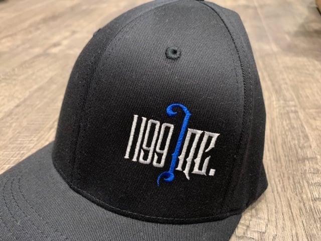 Image of 1199 Inc Thin Blue Line FlexFit Hat
