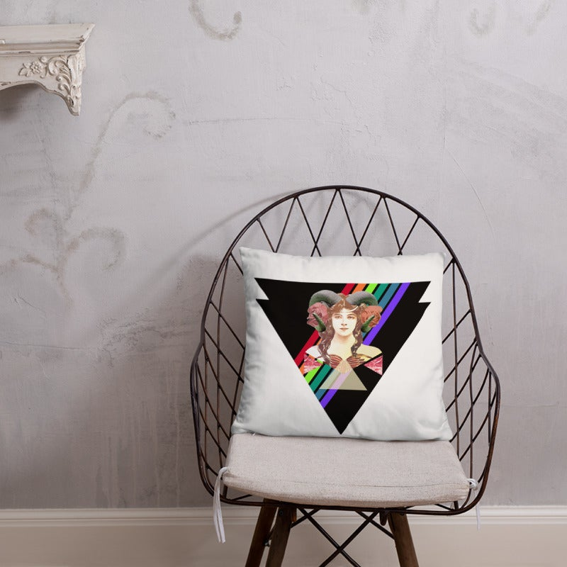 Image of Fierce Fem Horn Spirit Pillowy