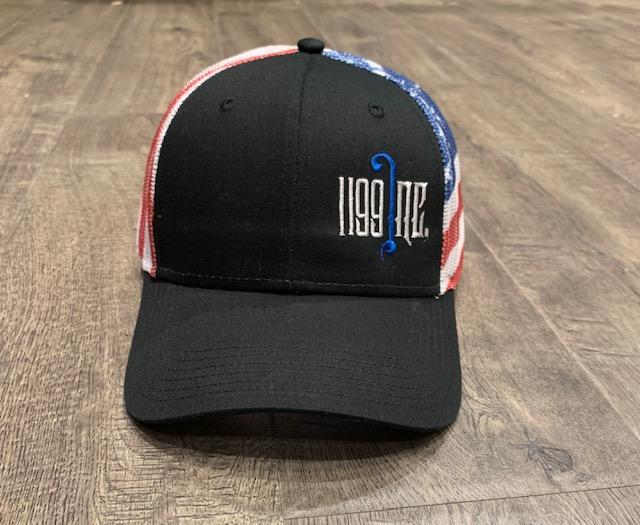 Image of 1199 Inc Flag SnapBack Mesh Hat