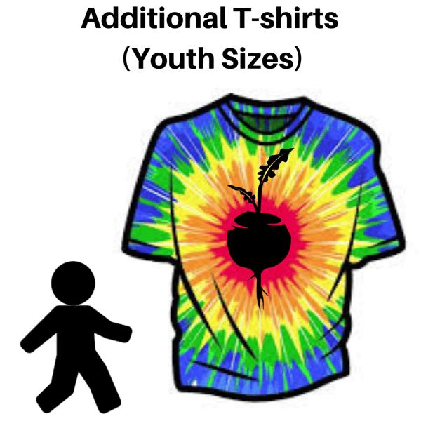 Image of Additional T-Shirt, Youth Sizes