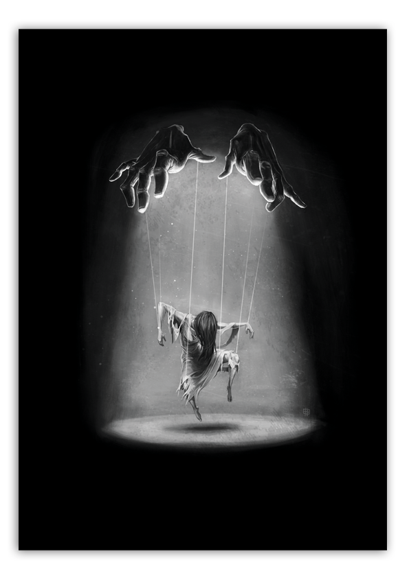 Image of Puppet - A3 Poster Print