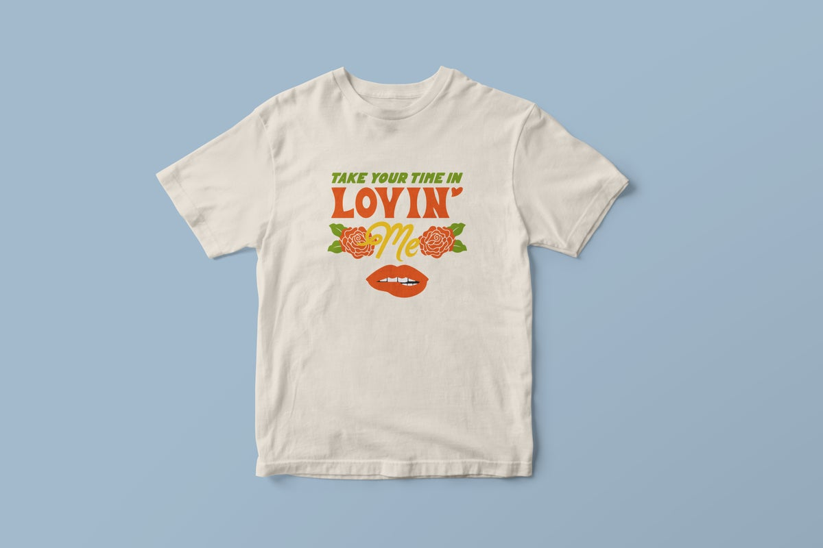 "Image of ""Lovin' Me"" Shirt - White"
