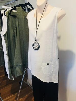 Image of Linen tops
