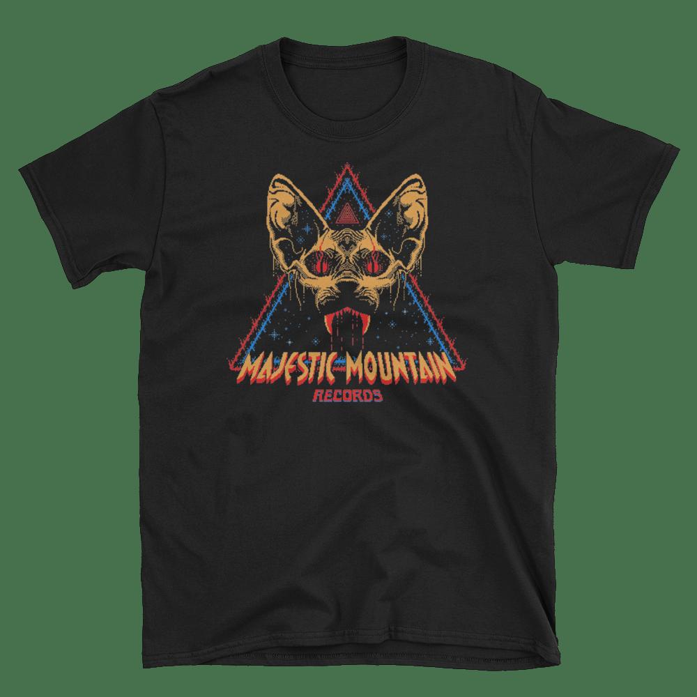 Majestic Mountain Records Pixel Logo t-shirt (Unisex)