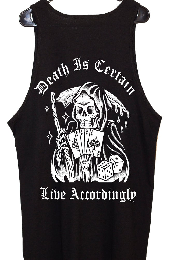 Image of Death Is Certain Tank-Tops