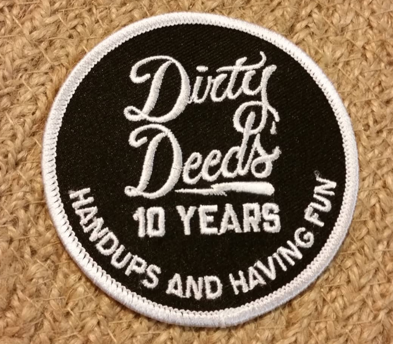 Image of DDCX 10 Year Patches