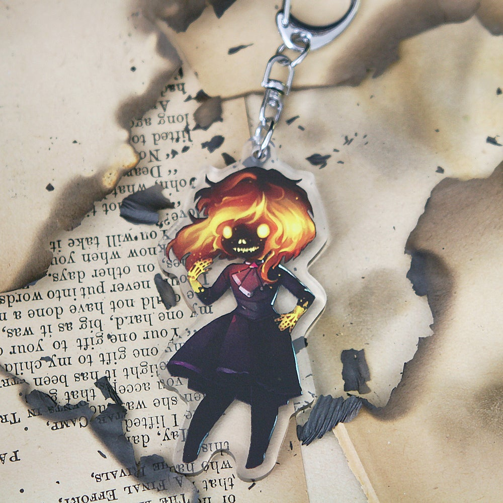 Image of 'Pyromancer' Charm