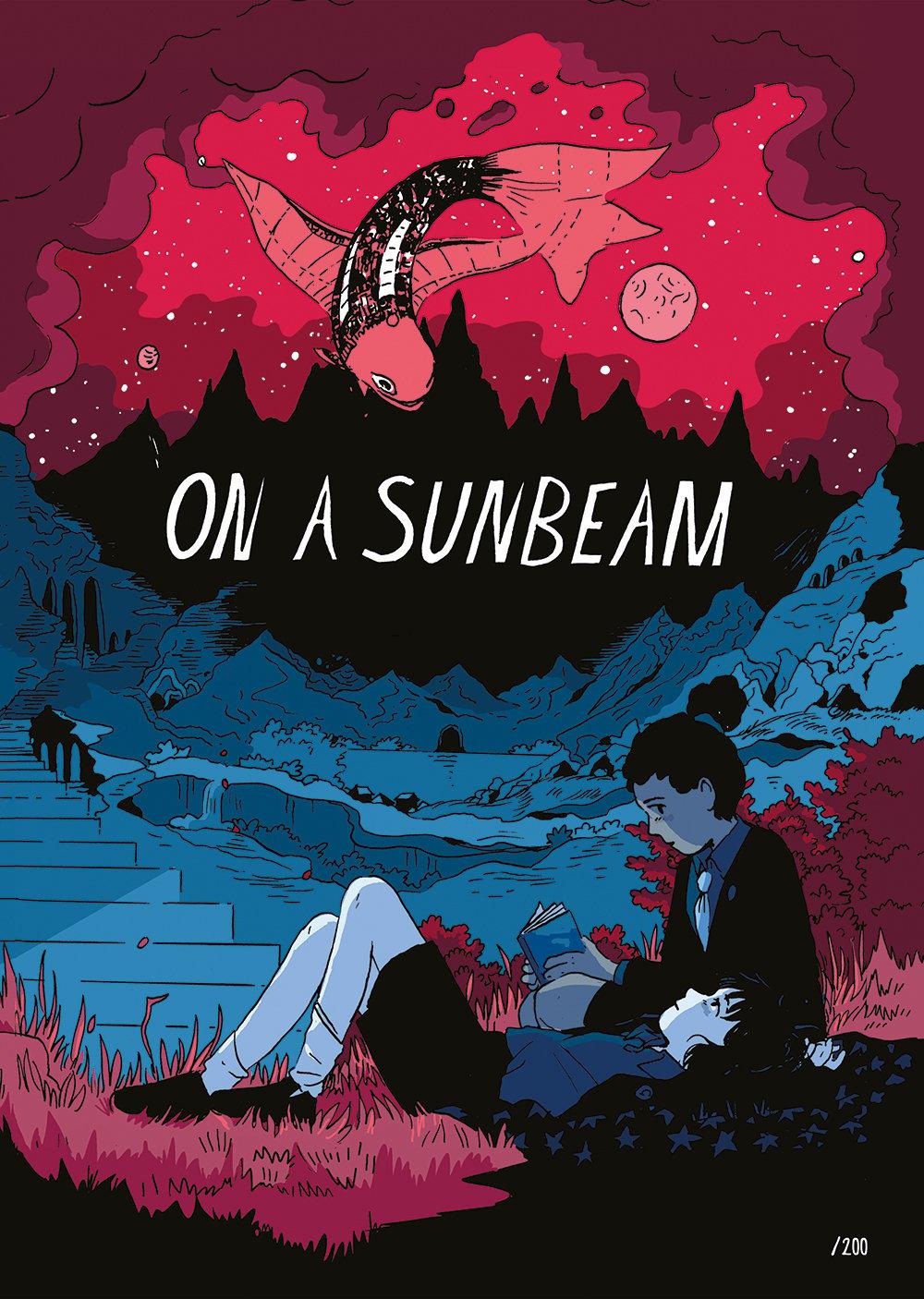 On A Sunbeam Limited Edition A3 Print