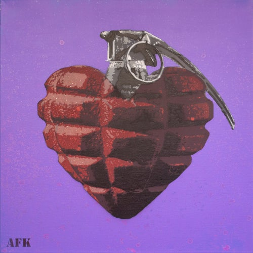 Image of AFK - Compassion for a cover (canvas)