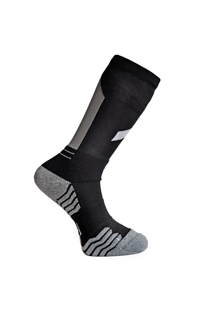 "Image of R.A Double Up ""Obelisk"" Socks Grey"