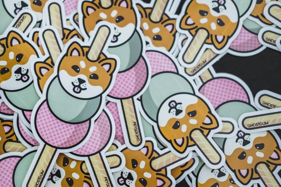 Image of Inu Dango - Vinyl sticker