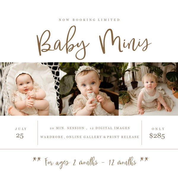 Image of Baby Milestone Sessions