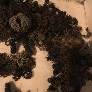 Image of Victorian Hair Wreath