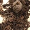 Victorian Hair Wreath