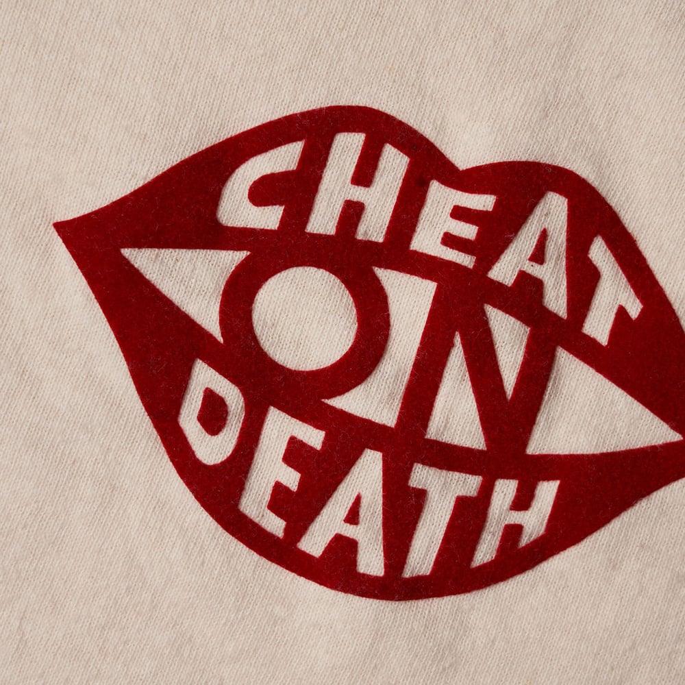Image of Flocked Cheat on Death Shirt