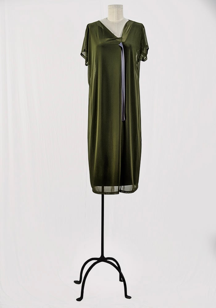 Image of Modular Dress - Olive