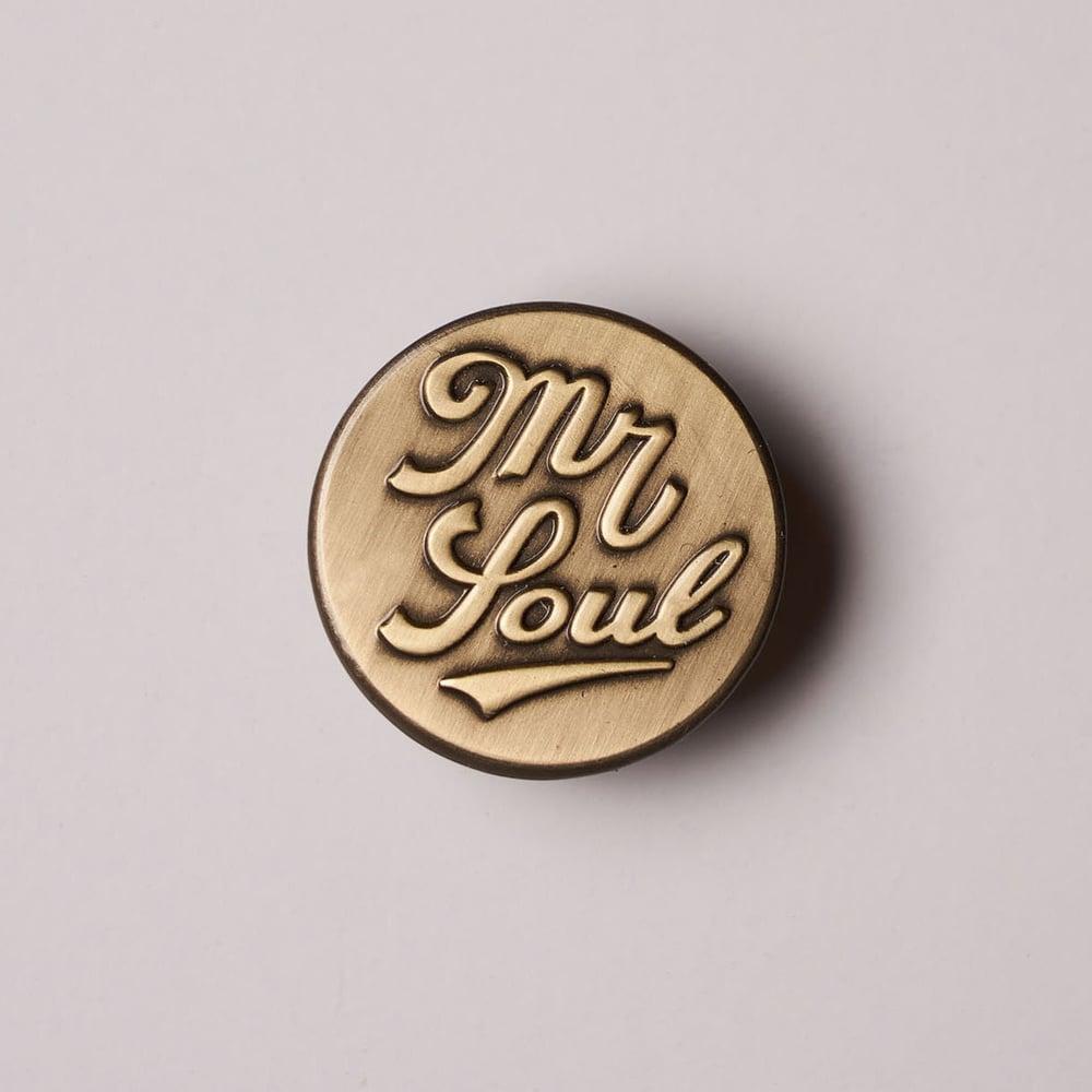 Image of Mr. Soul Brass Badge