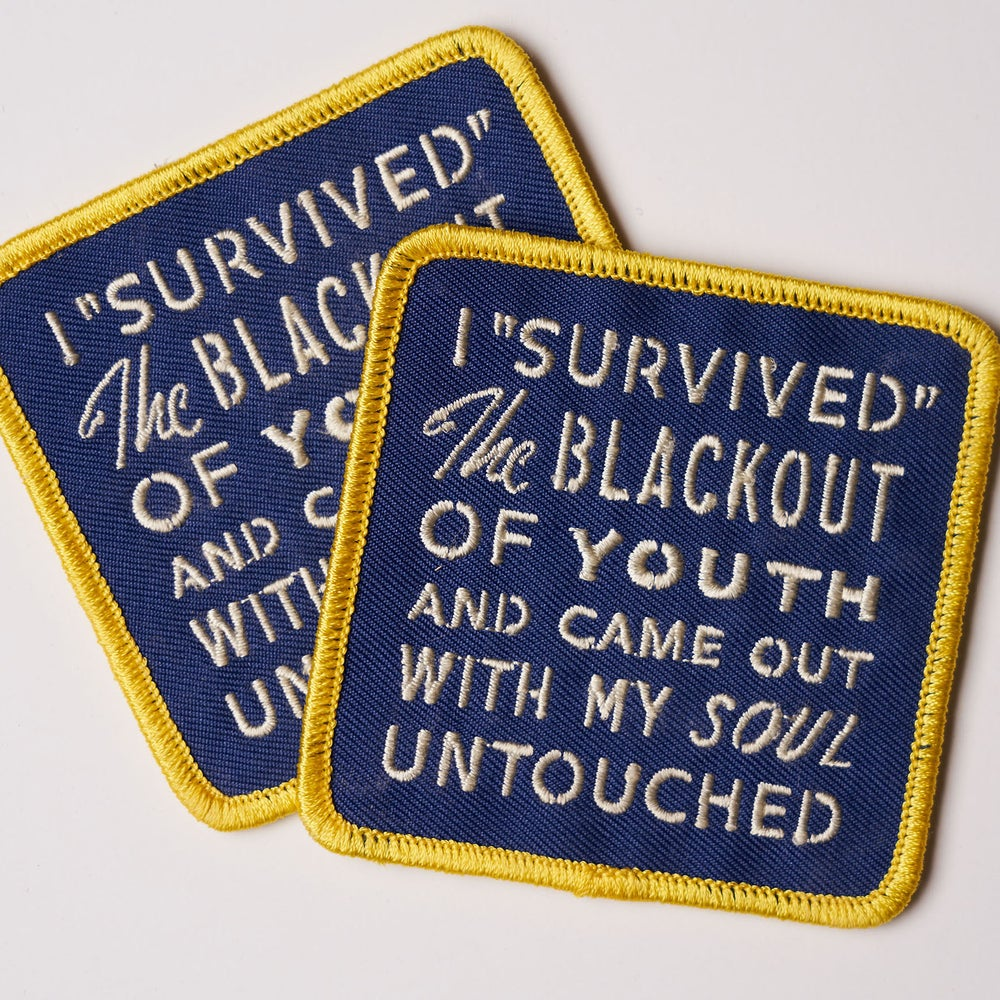 Image of Blackout of Youth Patch