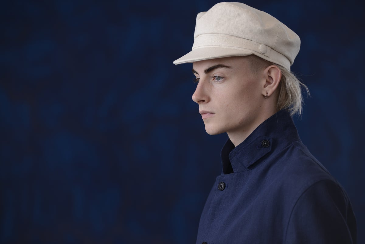 Image of ROULINE CAP -  NATURAL £110.00