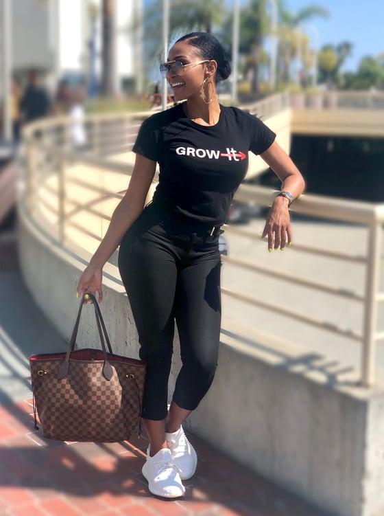 Image of Women's Grow through It T