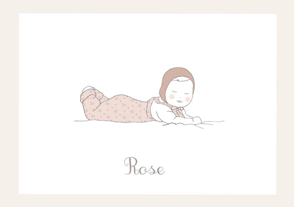 Image of Petit poupon fille - personnalisable