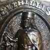 SYPHILLIS No. 1  KILLER Vintage Belt Buckle