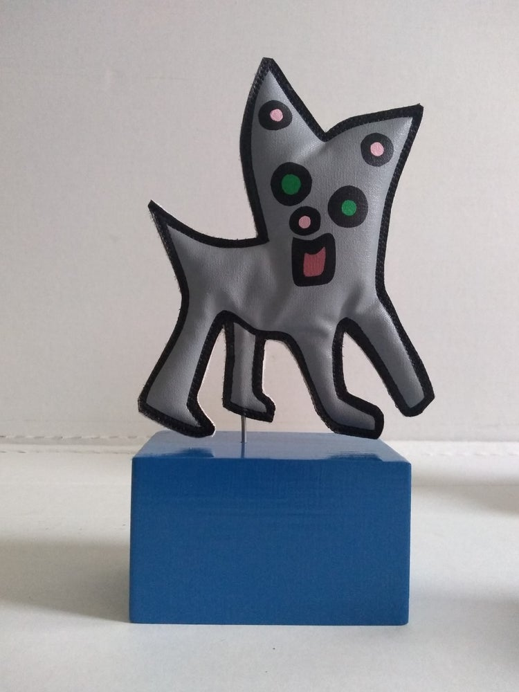"Image of ""Chihuahua Cat"" (Soft Sculpture)"