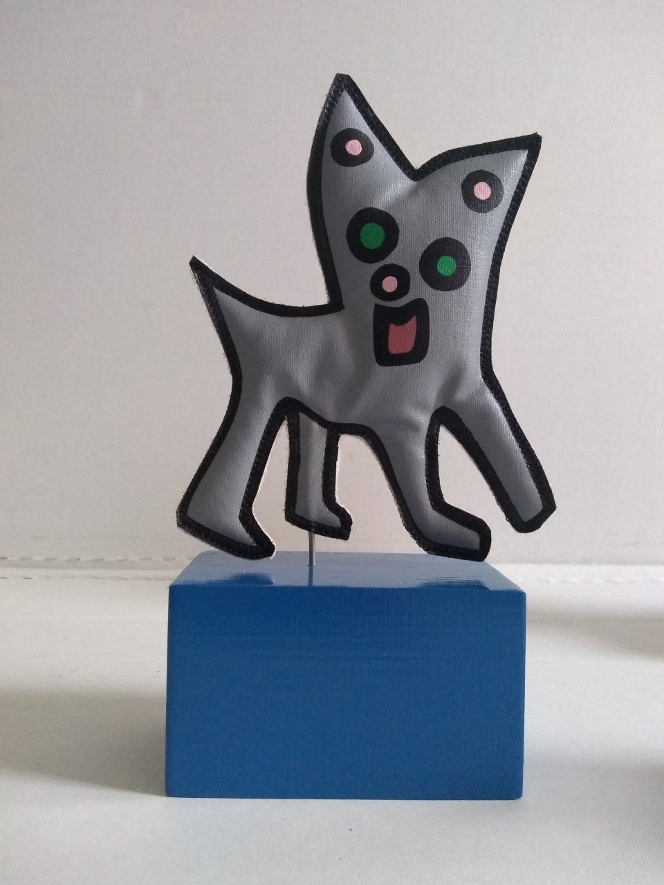 """Image of """"Chihuahua Cat"""" (Soft Sculpture)"""