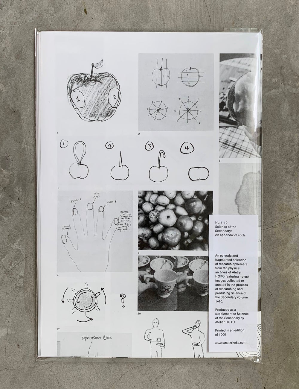 Image of AN APPENDIX OF SORTS POSTER