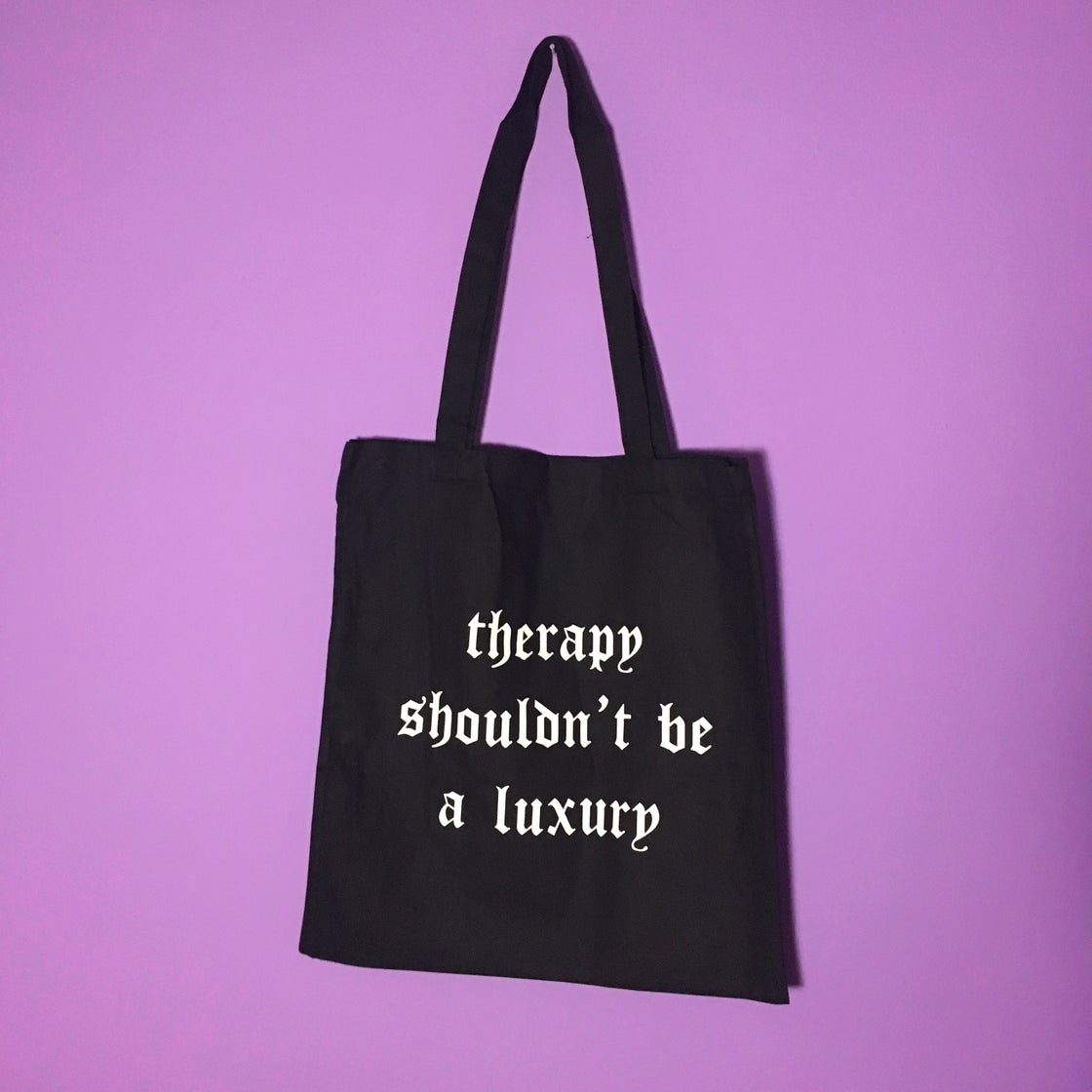 Image of SEX WORK/THERAPY tote bag