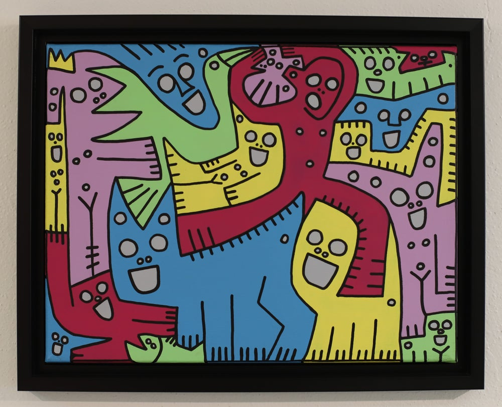 """Image of """"Siempre Te Llevo"""" (Original Painting)"""