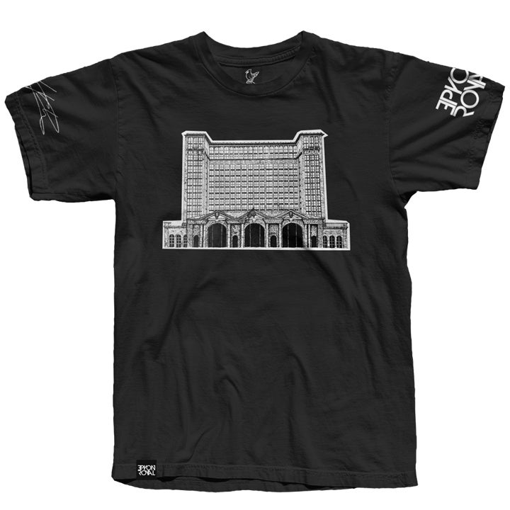 Image of Michigan Central Depot Tee