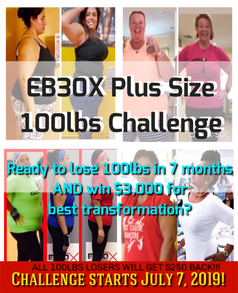 Image of EB30X 100lbs in 7 Months Challenge