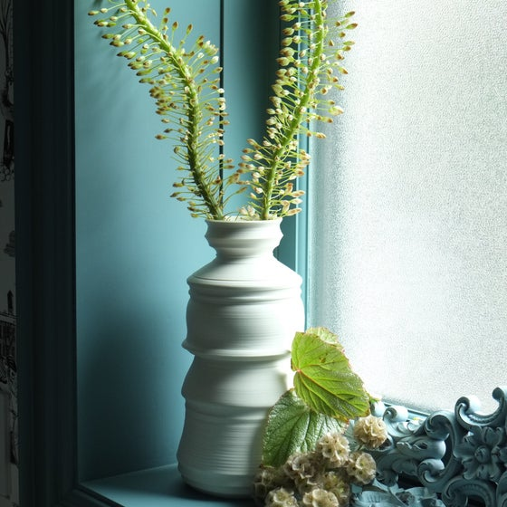 Image of Lantern Vase XL, Warm White, #1008