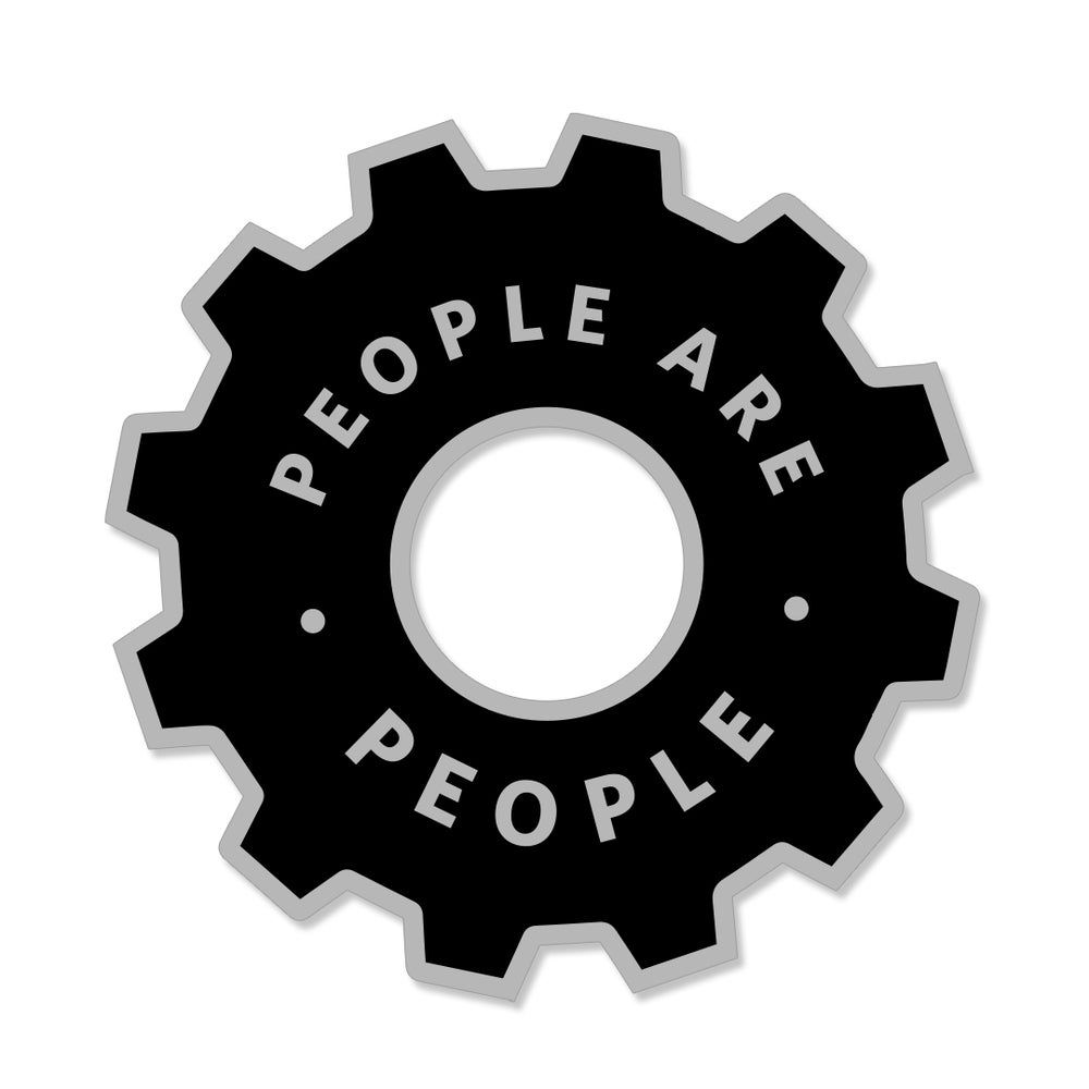 People Are People Pin