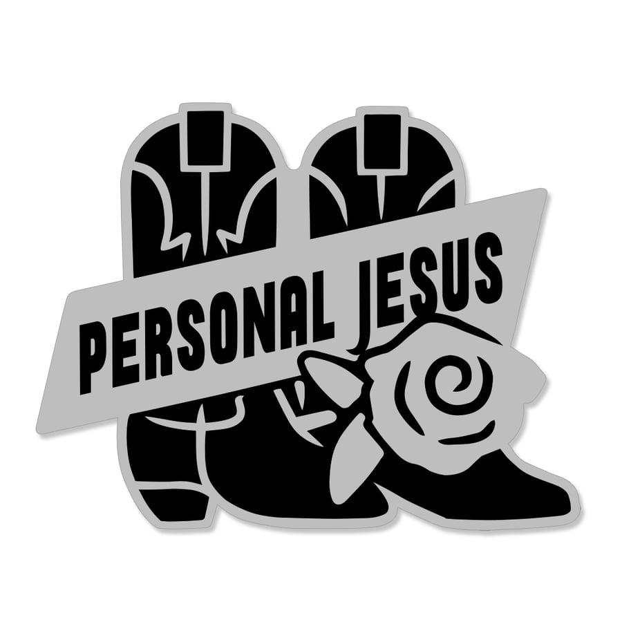 Image of Personal Jesus Pin