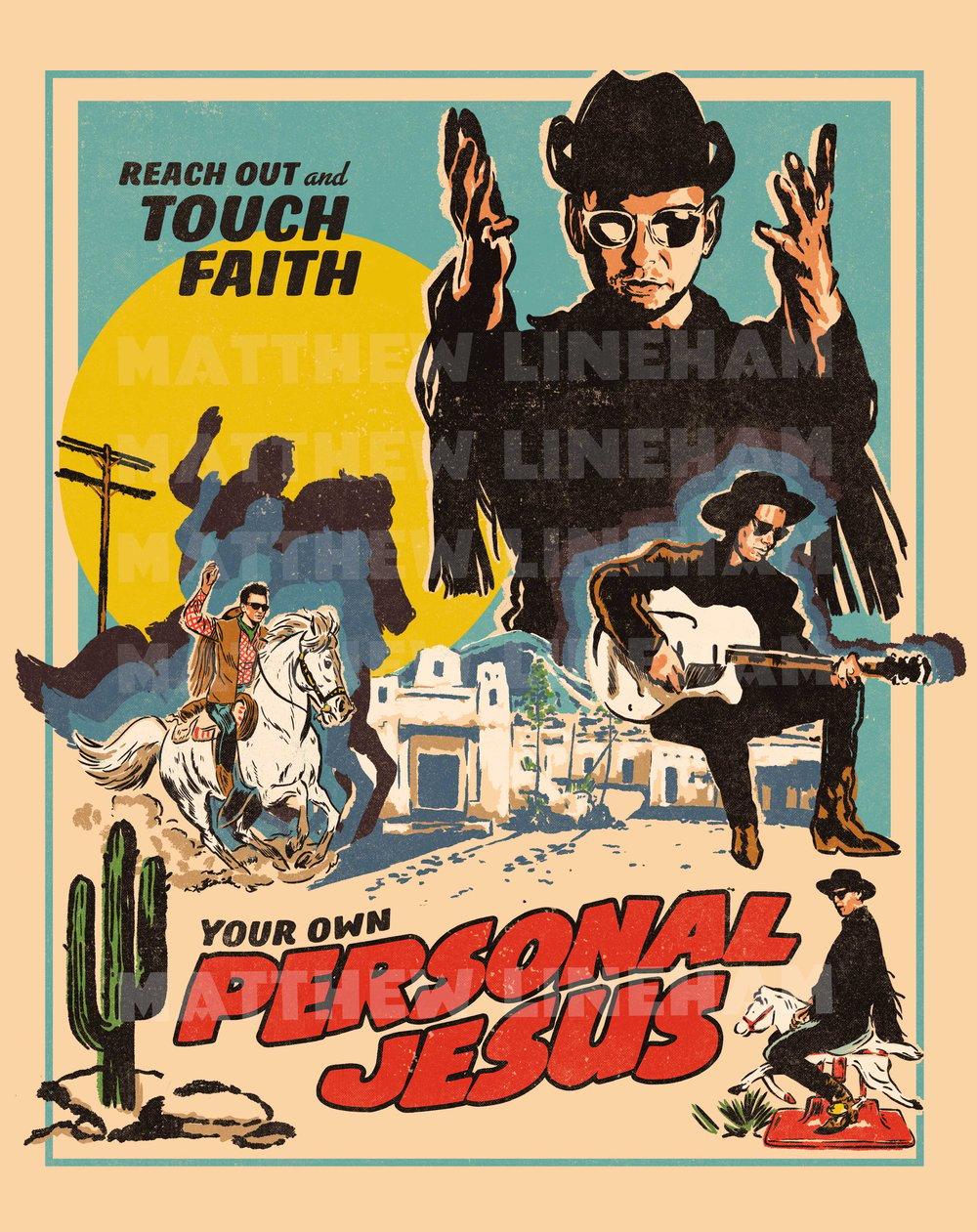 Personal Jesus Art Print