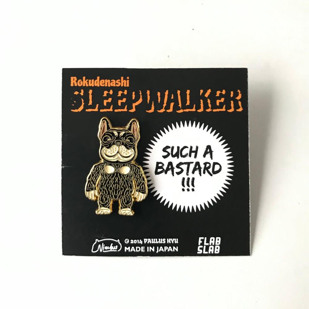 Image of SLEEPWALKER Nimbus enamel pin