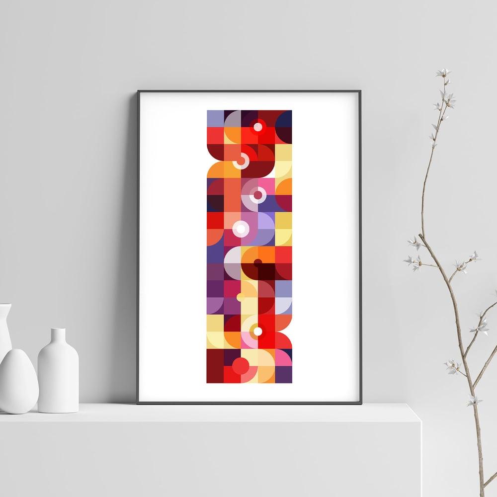 Image of Mechanics of Color Art Print