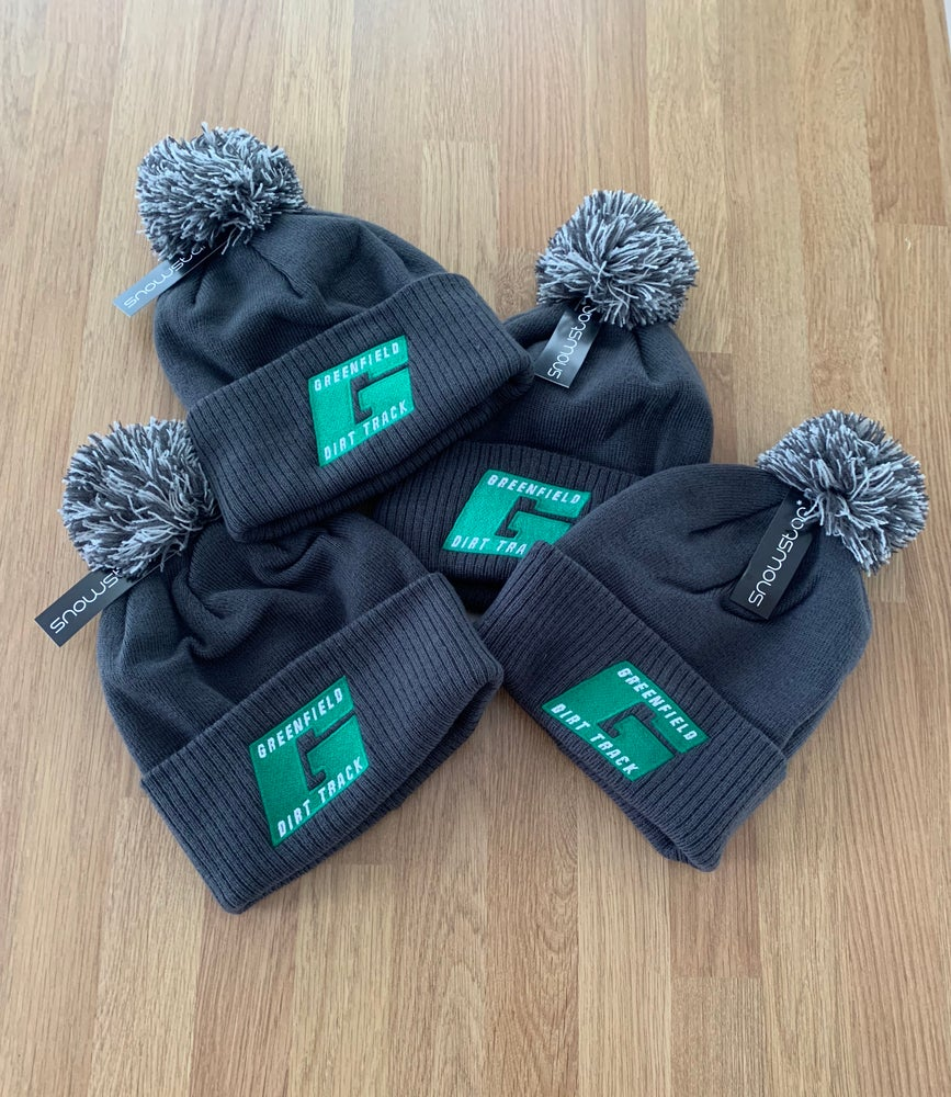 Image of Greenfield Dirt Track Bobble Hats