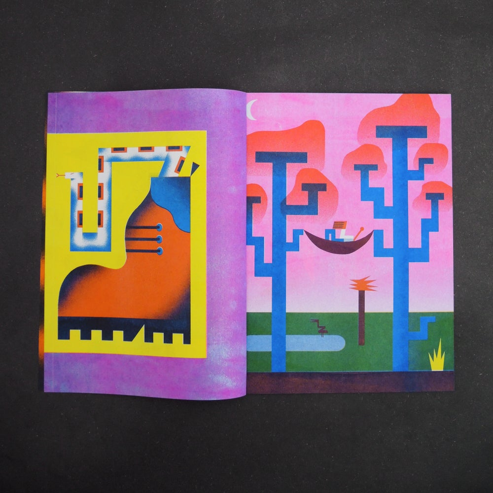 Image of Lets Go Outside Zine