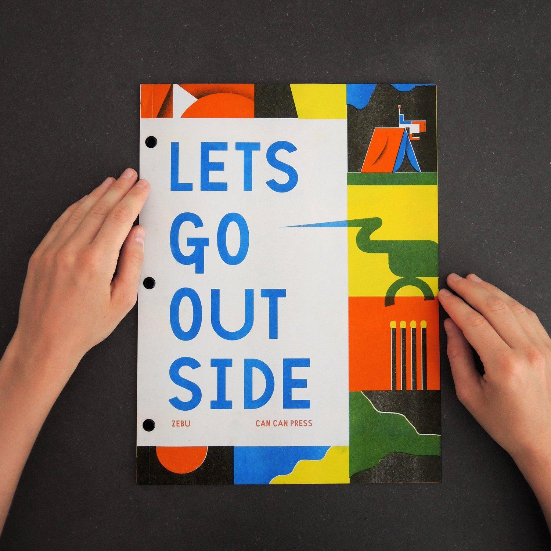 Image of Lets Go Outside Zine