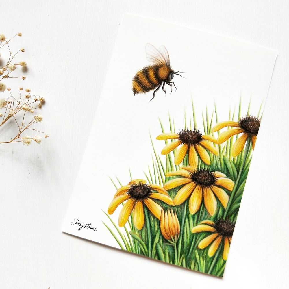 Image of Bumble Bee - FINE ART GICLÉE PRINT