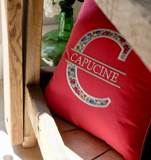 Image of Coussin Mongramme