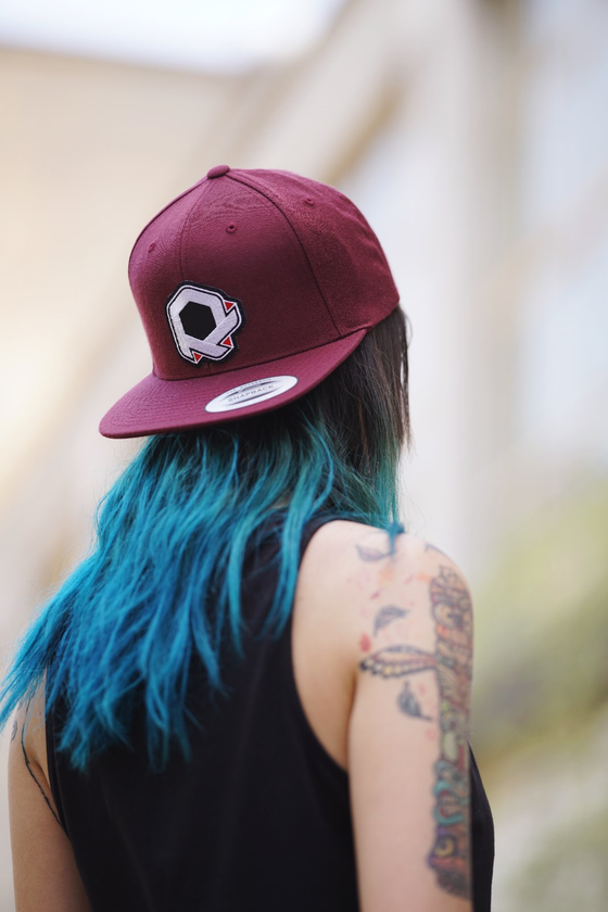 Image of RP Snapback - Bordeaux