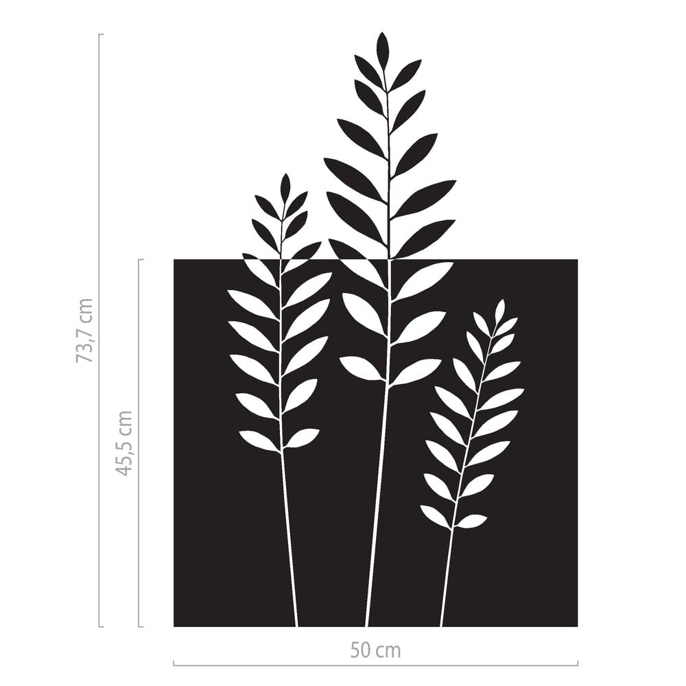 Image of Milchglasfolie mit Zweigen - dekorativer Sichtschutz, Fensterfolie Naturmotiv